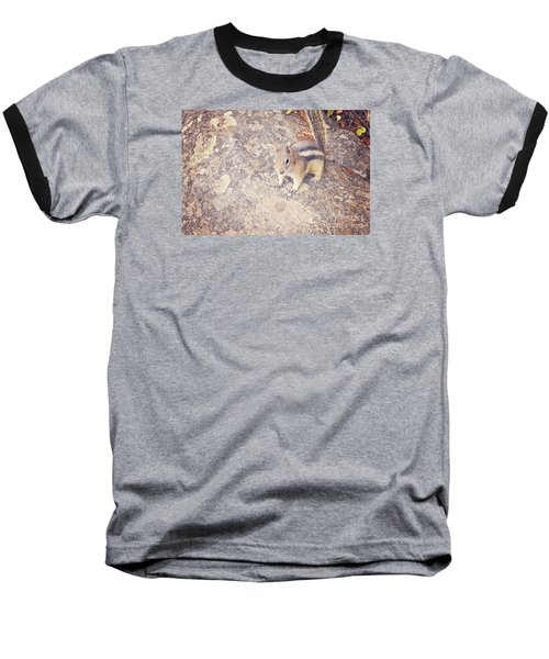 Baseball T-Shirt featuring the photograph Alvin The Chipmunk by Janie Johnson