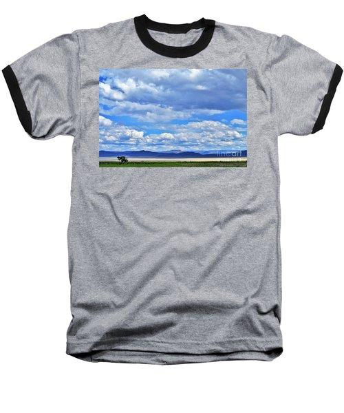 Sky Over Alvord Playa Baseball T-Shirt by Michele Penner