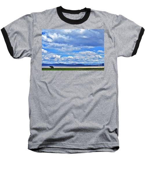Sky Over Alvord Playa Baseball T-Shirt