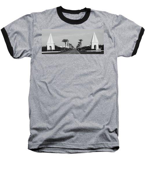Alys Beach Entrance Baseball T-Shirt
