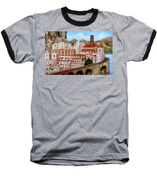 Amalfi Coast Baseball T-Shirt