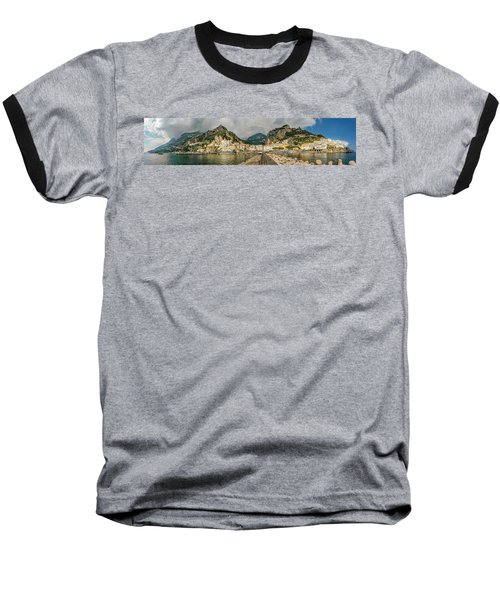 Baseball T-Shirt featuring the photograph Amalfi by Steven Sparks