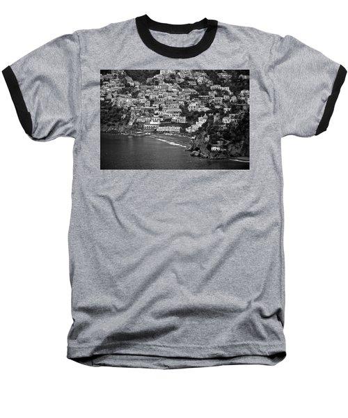 Amalfi's Positano Baseball T-Shirt by Eric Tressler