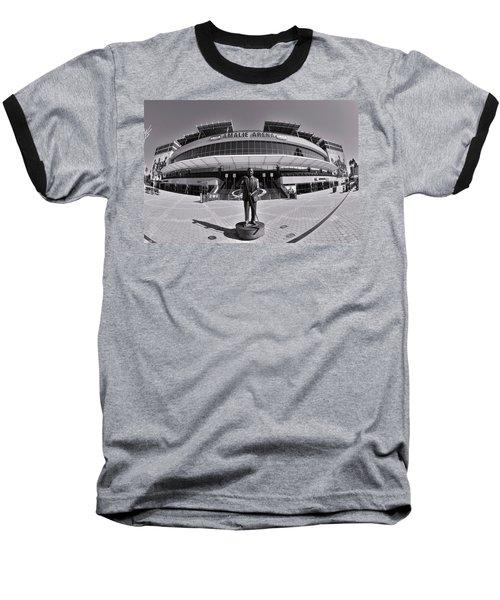 Amalie Arena Black And White Baseball T-Shirt