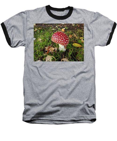 Amanita Mascara Baseball T-Shirt