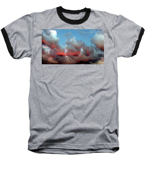 Imaginary Real Clouds  Baseball T-Shirt