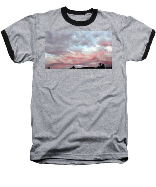 Soft Clouds Baseball T-Shirt