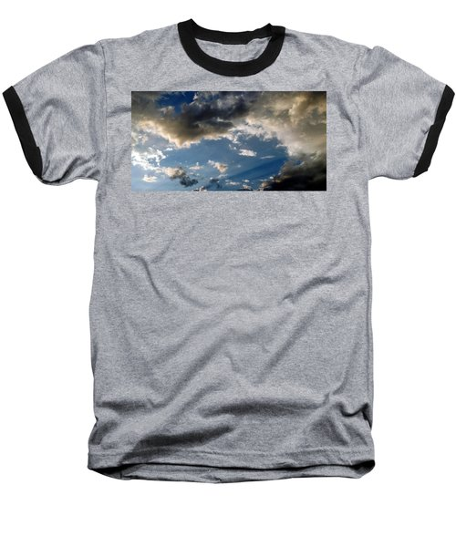 Amazing Sky Photo Baseball T-Shirt