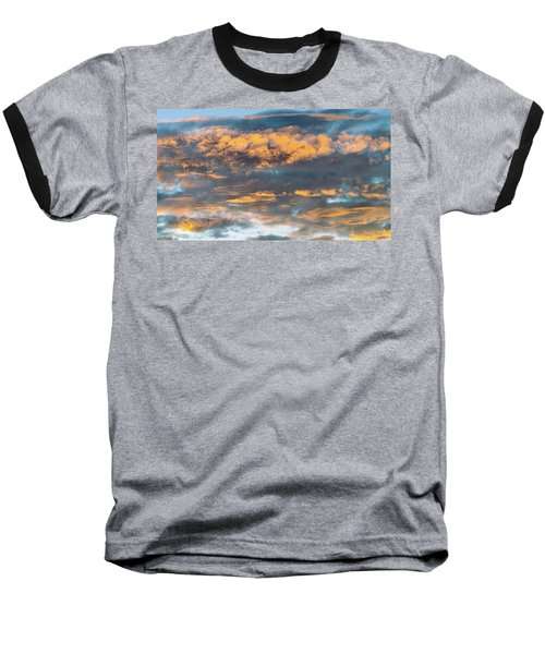 Clouds Of A Different Color Baseball T-Shirt