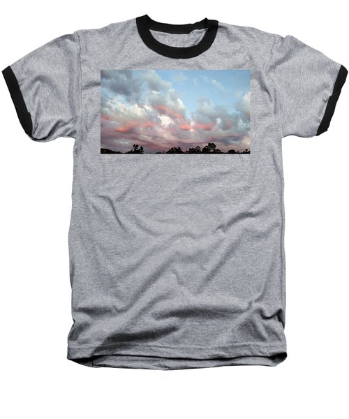 Amazing Clouds At Dusk Baseball T-Shirt