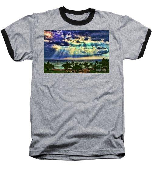 Amazing Grace - Sun Rays Before Sunset By Diana Sainz Baseball T-Shirt