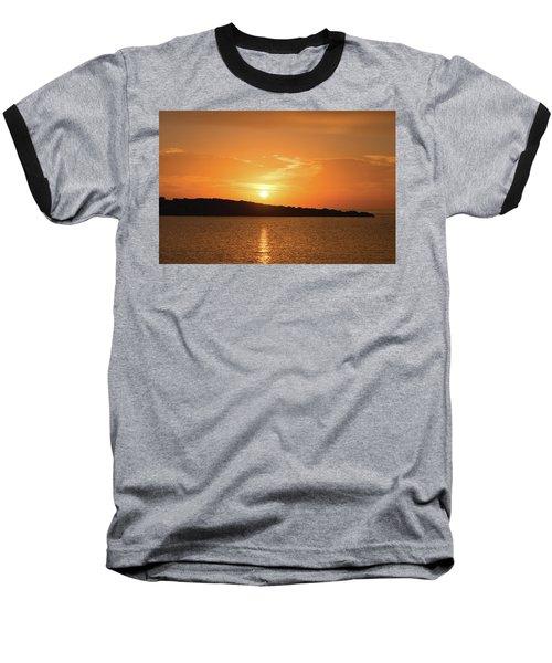 Dawn In Ibiza, Spain Baseball T-Shirt