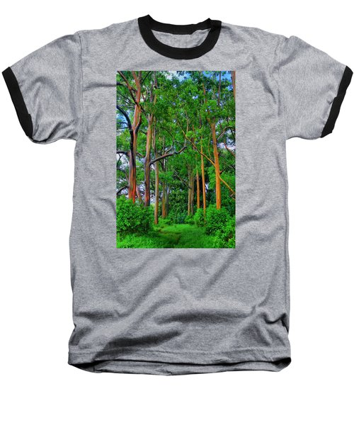 Amazing Rainbow Eucalyptus Baseball T-Shirt