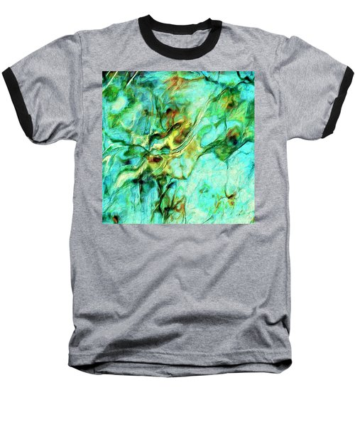 Baseball T-Shirt featuring the painting Amazon by Dominic Piperata