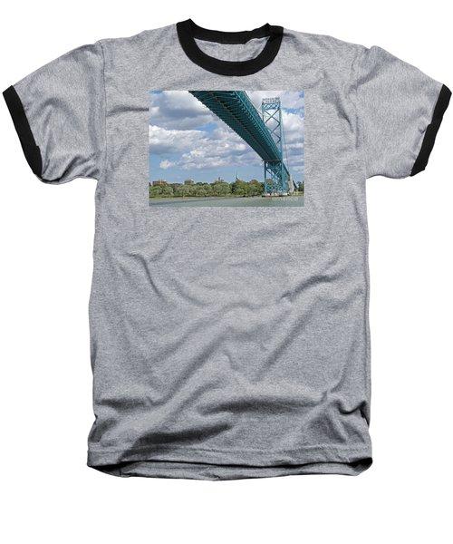 Ambassador Bridge - Windsor Approach Baseball T-Shirt