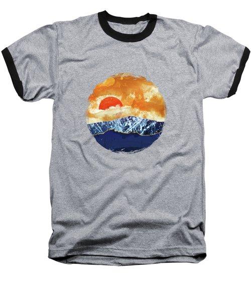 Amber Dusk Baseball T-Shirt by Katherine Smit