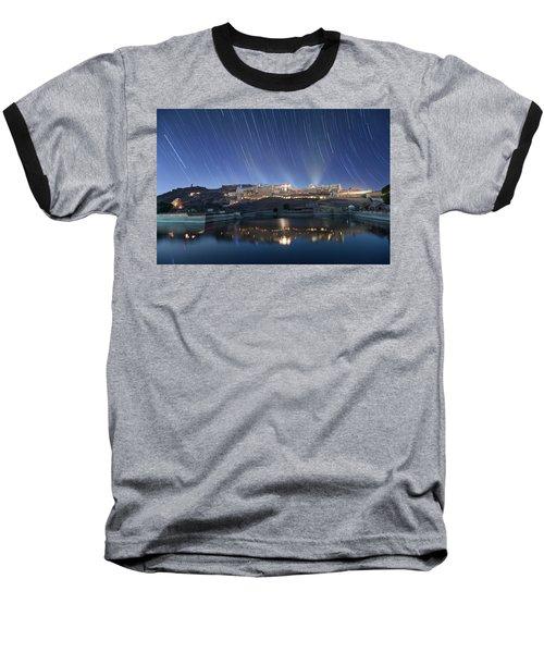 Amber Fort After Sunset Baseball T-Shirt