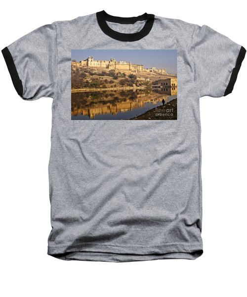 Amber Fort Baseball T-Shirt