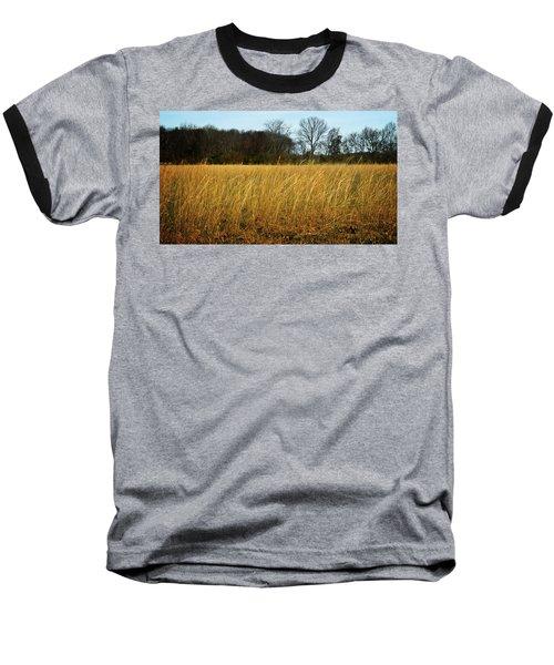 Amber Waves Of Grain Baseball T-Shirt