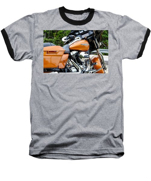 Amber Whiskey Glide Baseball T-Shirt