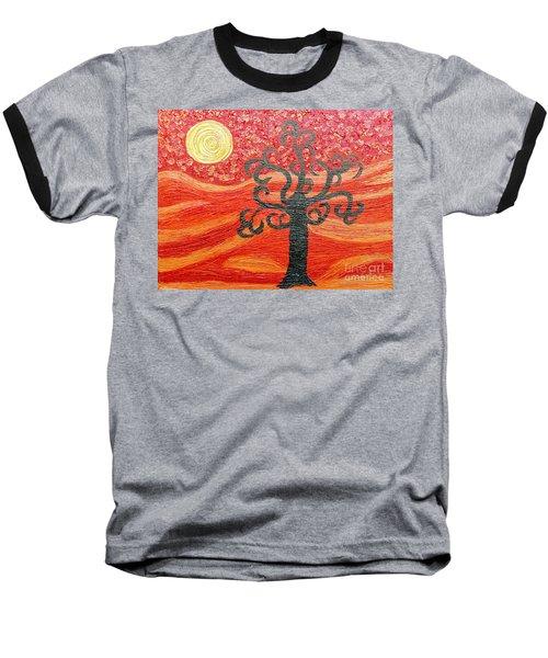 Ambient Bliss Baseball T-Shirt by Rachel Hannah
