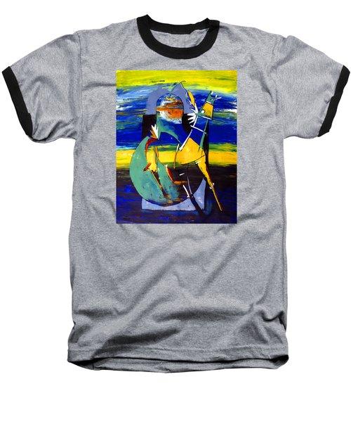 Ameeba 32- Horse And Pear Baseball T-Shirt