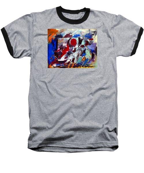 Ameeba 36-horses By The Sea 2 Baseball T-Shirt
