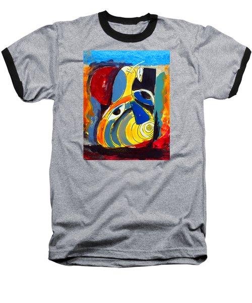 Ameeba 41- Pear Face Baseball T-Shirt