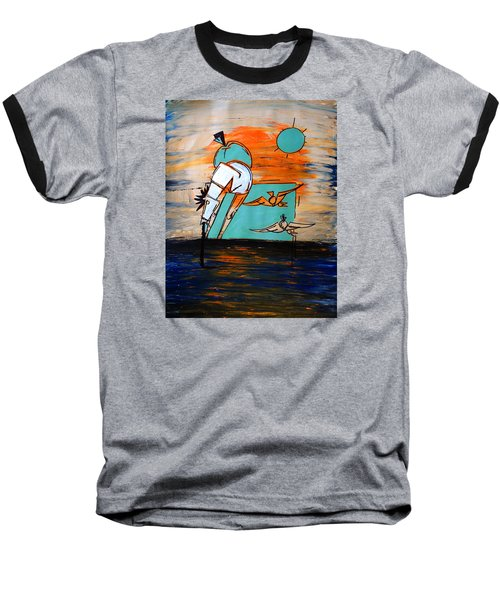 Ameeba- Horse 1 Baseball T-Shirt