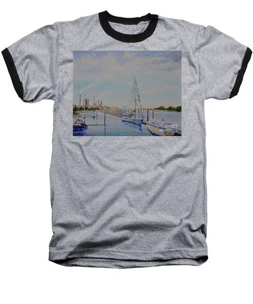 Amelia Island Port Baseball T-Shirt
