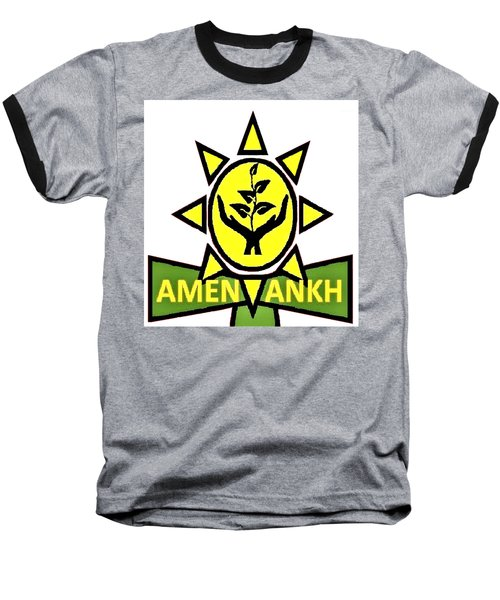 Amen Ankh Baseball T-Shirt