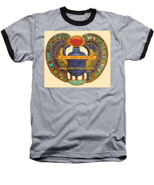Amen Ankh Akademy Baseball T-Shirt