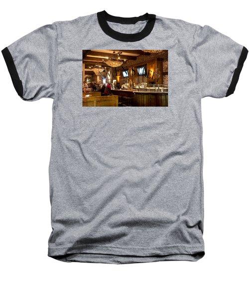 Baseball T-Shirt featuring the photograph Amen Street by Allen Carroll