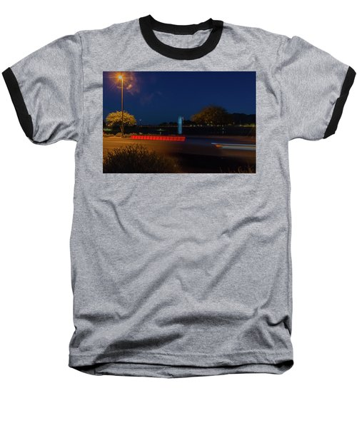 America At Night Baseball T-Shirt