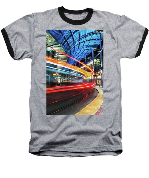 America Plaza Station Baseball T-Shirt