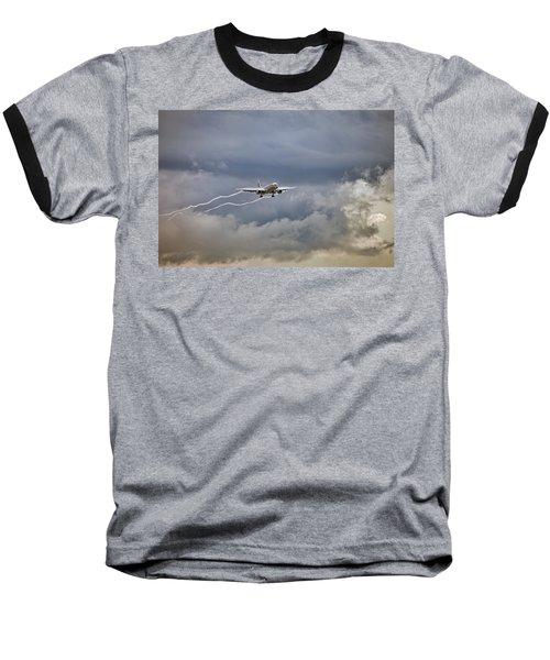 American Aircraft Landing Baseball T-Shirt