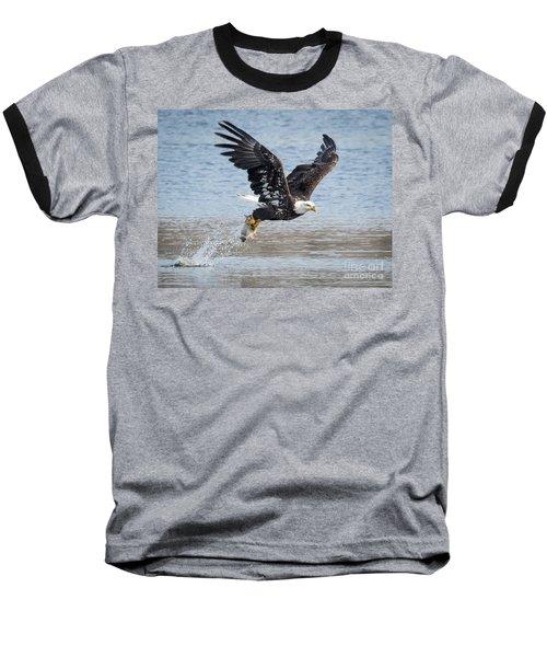 American Bald Eagle Taking Off Baseball T-Shirt