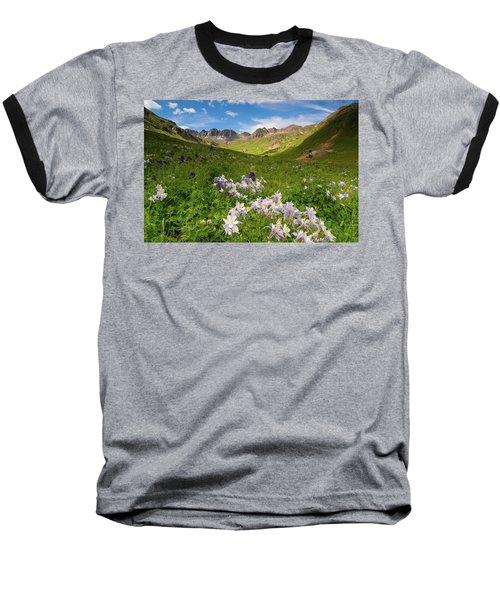 Baseball T-Shirt featuring the photograph American Basin by Steve Stuller