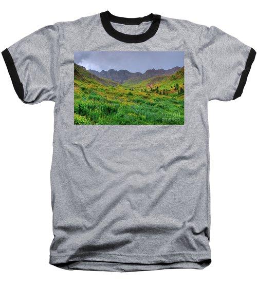 American Basin Summer Storm Baseball T-Shirt by Teri Brown