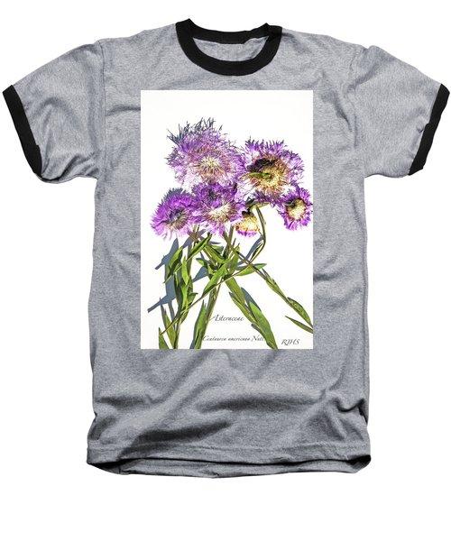 American Basket Flower Baseball T-Shirt