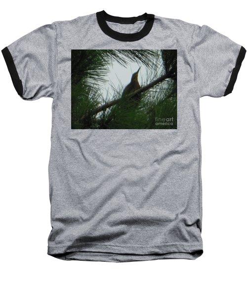 American Bitten Bird Baseball T-Shirt