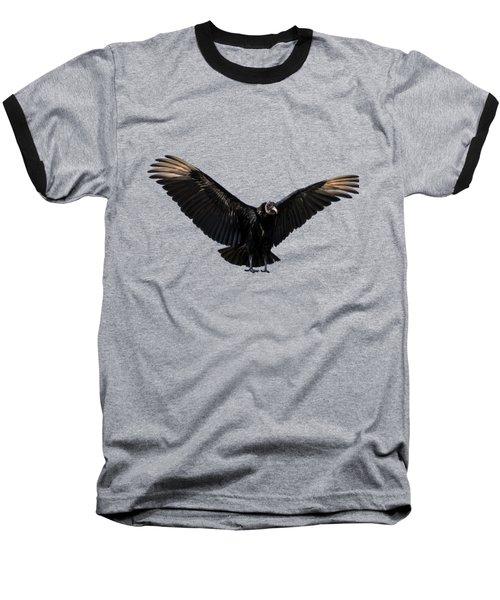American Black Vulture Baseball T-Shirt