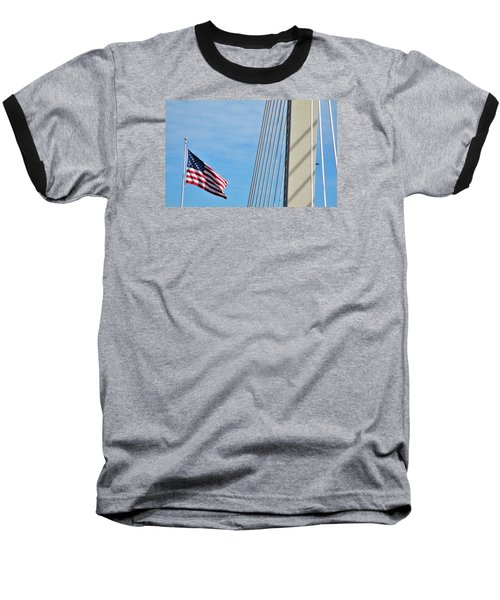 American Afternoon Baseball T-Shirt by Martin Cline