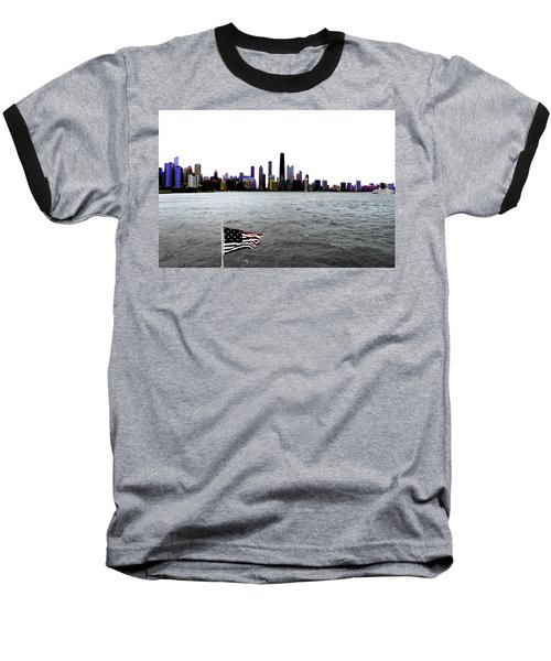American Chi 3 Baseball T-Shirt