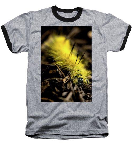 American Dagger Moth Caterpillar Baseball T-Shirt