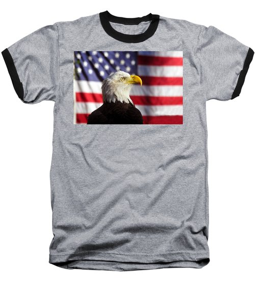 American Eagle Baseball T-Shirt