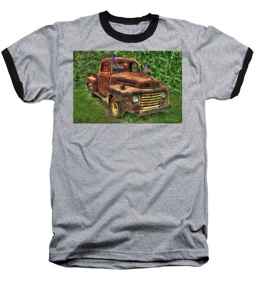 American Ford 1950 F-1 Ford Pickup Truck Art Baseball T-Shirt