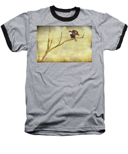 Baseball T-Shirt featuring the photograph American Freedom by James BO Insogna
