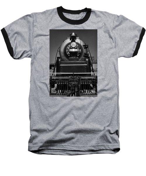 American Freedom Train #1 Baseball T-Shirt by Martin Konopacki