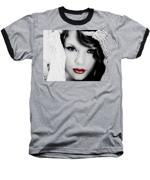 American Girl Taylor Swift Baseball T-Shirt by Brian Reaves